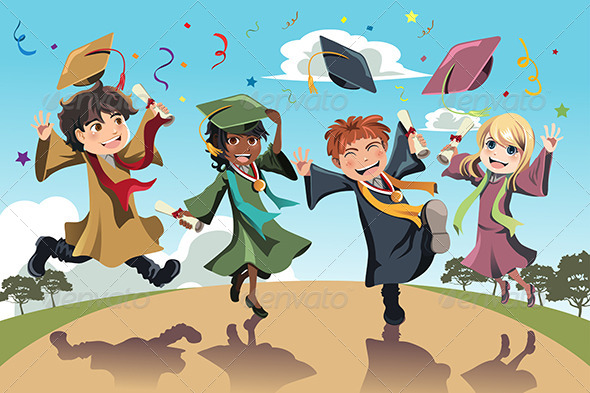 GraphicRiver Graduation Celebration 6212964