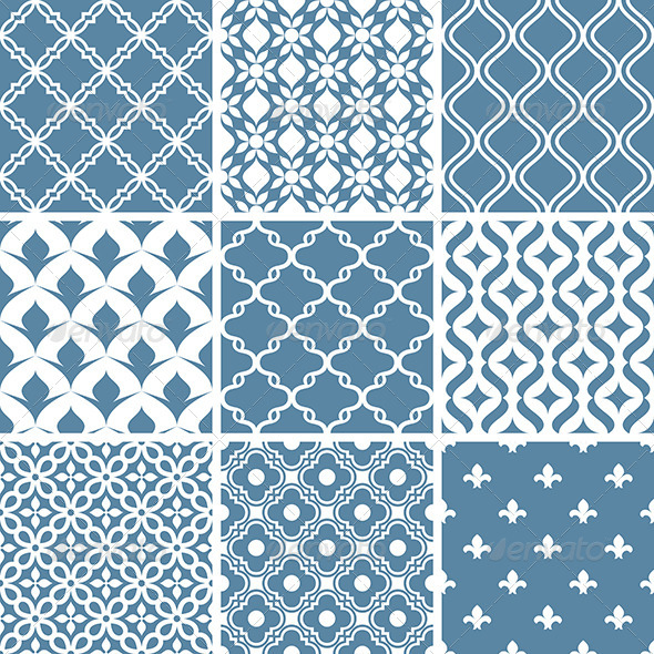 GraphicRiver Abstract Vector Patterns 6213731