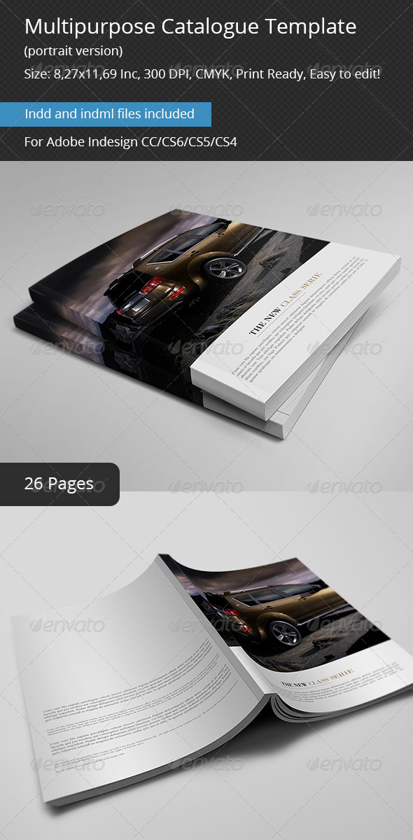 GraphicRiver Multipurpose Catalogs Template Portrait Version 6211203