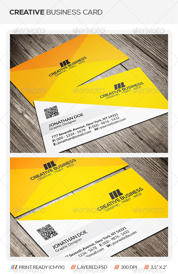 GraphicRiver Creative Corporate Business Card 6214131