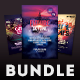City Party Flyer Bundle - GraphicRiver Item for Sale