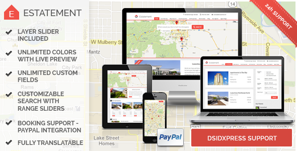 Estatement - Powerful Real Estate Management - Business Corporate