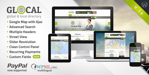 GLOCAL - Responsive WordPress Directory - Miscellaneous WordPress