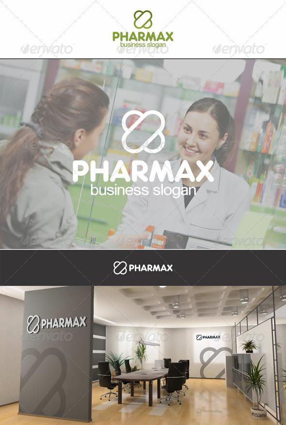 GraphicRiver PharmaX Capsule X Letter 6216950