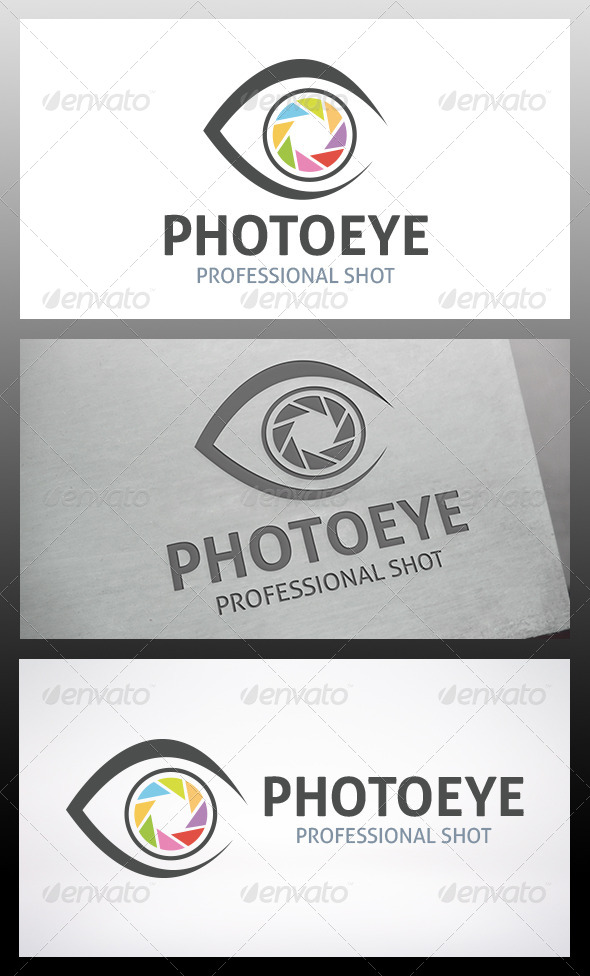 GraphicRiver Photo Eye Logo 6217020