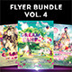 Flyer Bundle Vol.4 - GraphicRiver Item for Sale
