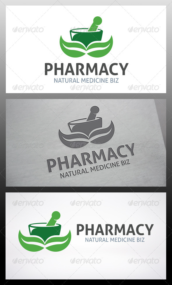 GraphicRiver Pharmacy Logo 6218121