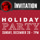 Holiday Party Invitation 02 - GraphicRiver Item for Sale