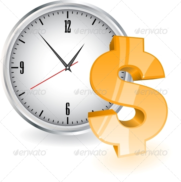 GraphicRiver Time is Money 6218927