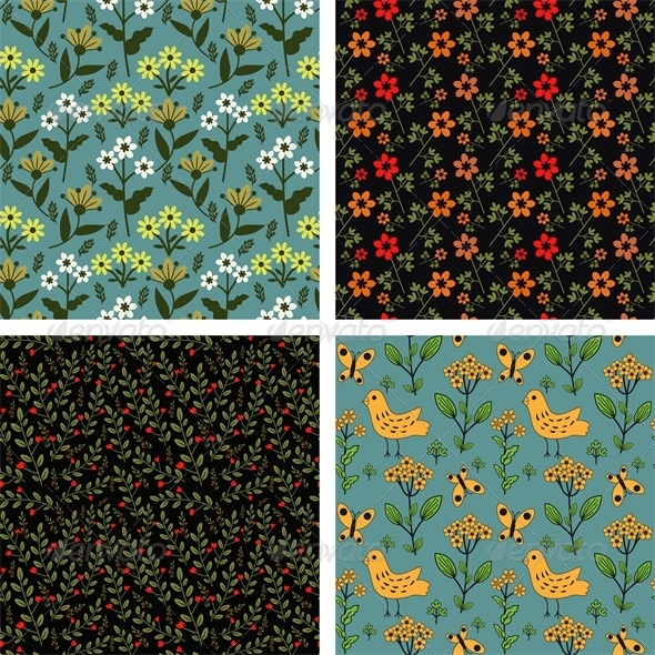 GraphicRiver Seamless Patterns 6219177