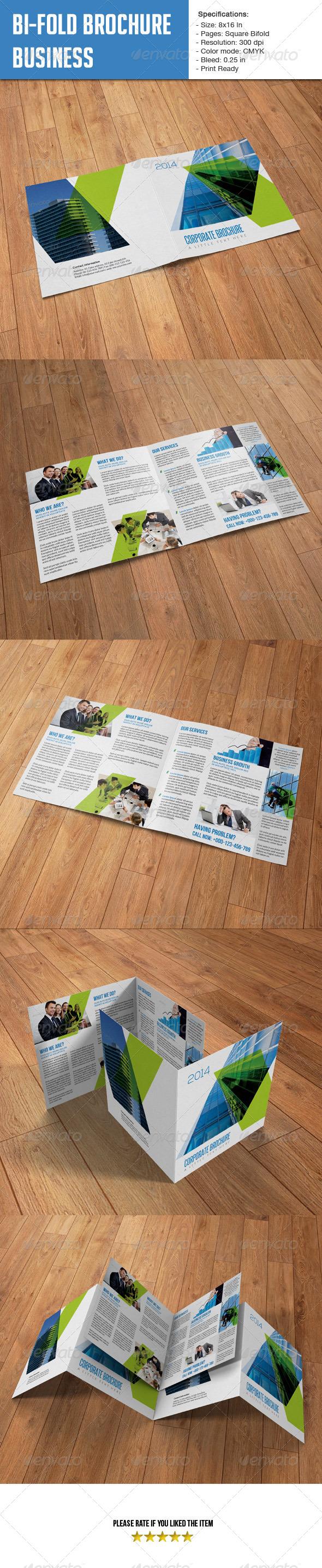 GraphicRiver Square Bifold Business 6219582