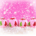 Pink beauty Christmas background - PhotoDune Item for Sale