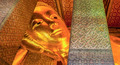 Reclining Buddha gold statue face - PhotoDune Item for Sale