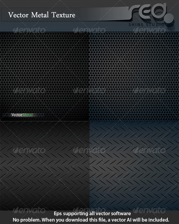 GraphicRiver Metal Texture & Speaker Grille Texture 6222039