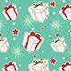 Seamless Pattern with Christmas Gifts - GraphicRiver Item for Sale
