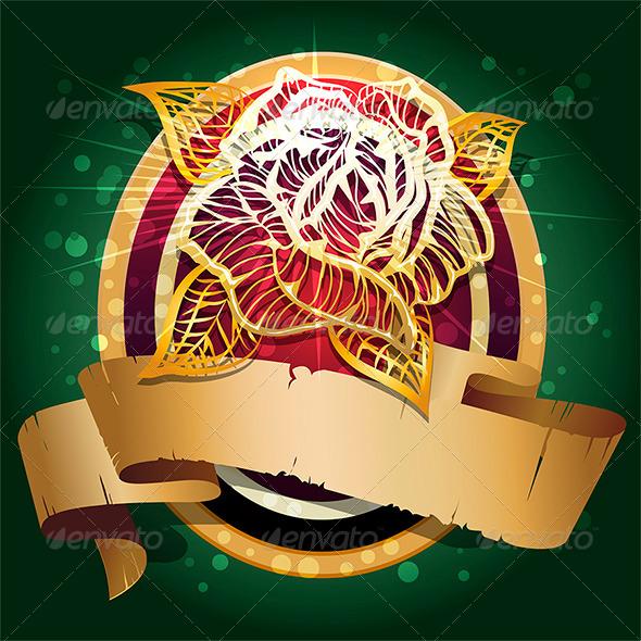 GraphicRiver The Rose Shield 6222406