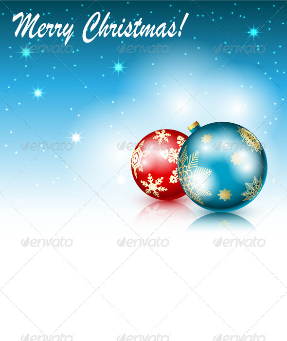 GraphicRiver Christmas Background 6222432