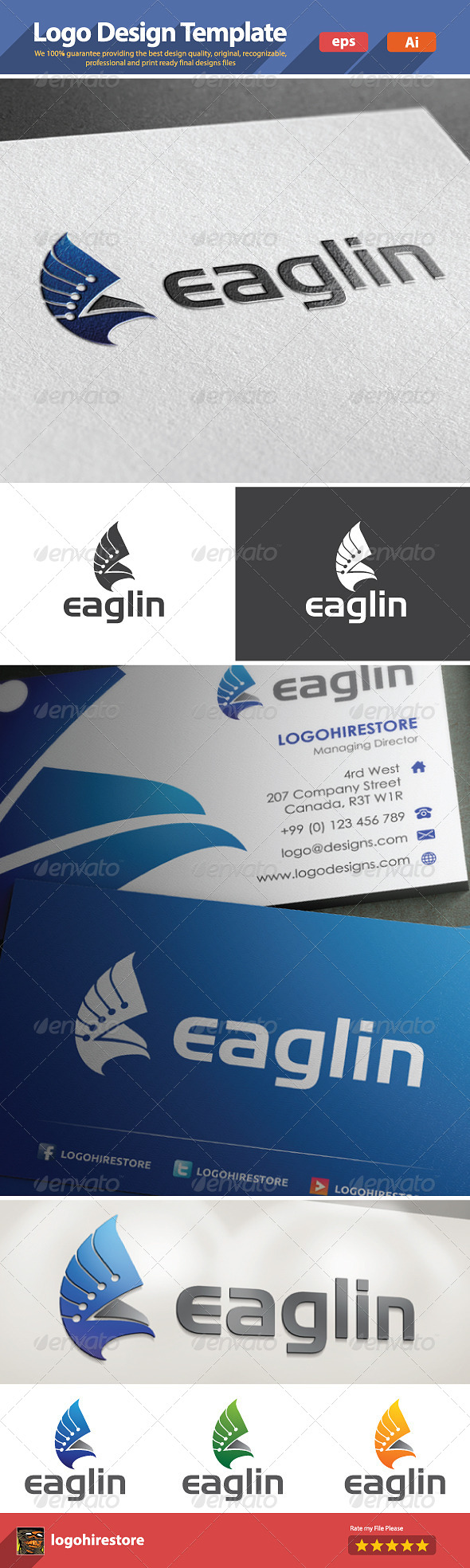 GraphicRiver Eaglin 6222682