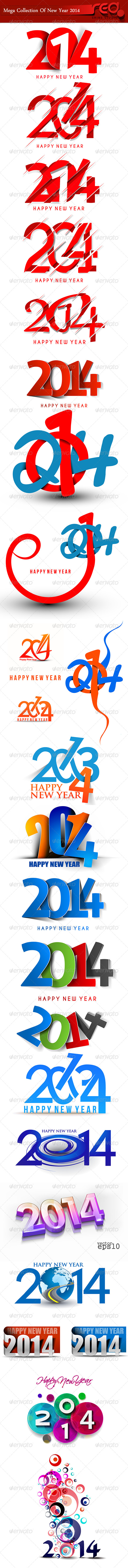 GraphicRiver Happy New Year 2014 6222833