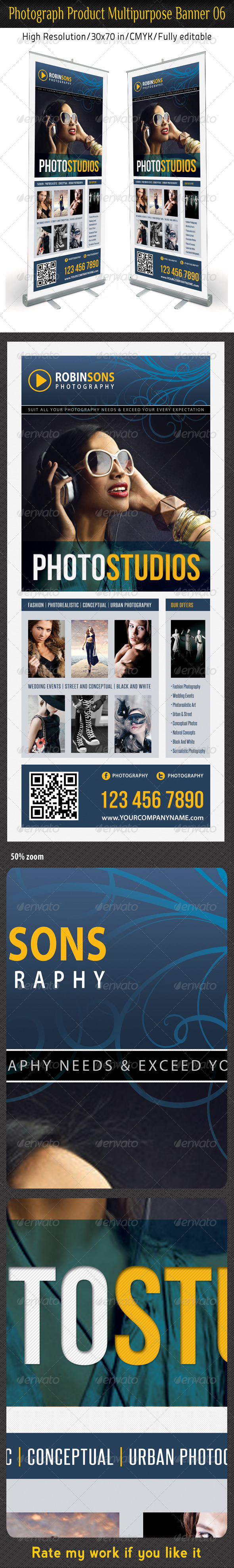 GraphicRiver Photograph Product Multipurpose Banner 06 6191411