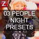 3 Pro Peope Night Presets - GraphicRiver Item for Sale
