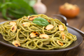 Pasta with Pesto and Roasted Almonds - PhotoDune Item for Sale
