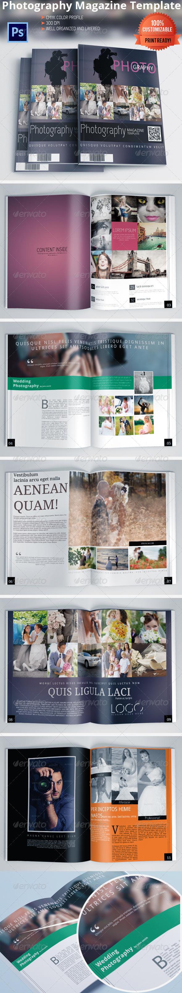 GraphicRiver Photography Magazine Brochure 6230458