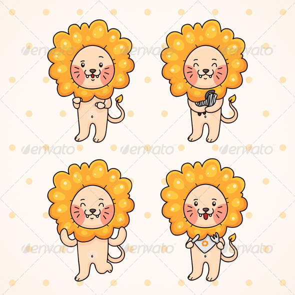 GraphicRiver Lion 6230488