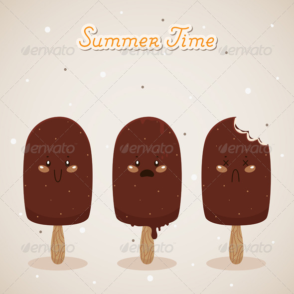 GraphicRiver Summer with Ice Cream 6230599