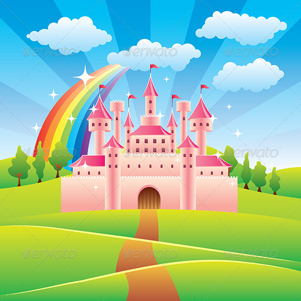 GraphicRiver Fairy Tale Castle 6232698