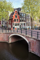 Canal Bridge and Houses in Amsterdam - PhotoDune Item for Sale