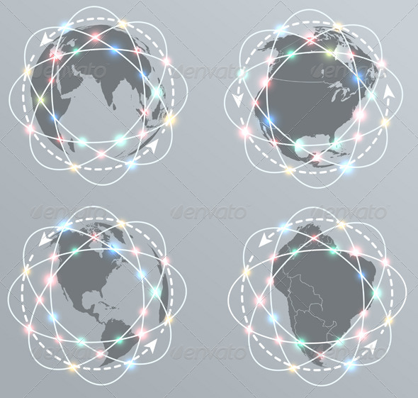 GraphicRiver Global Connections Network 6233041
