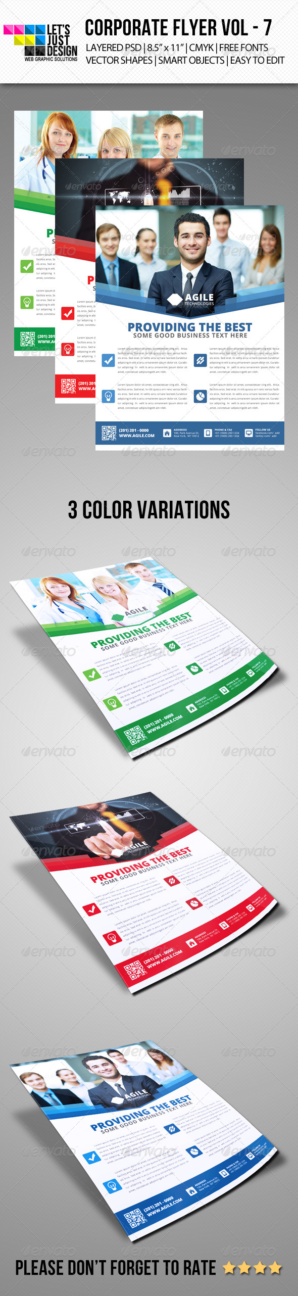 GraphicRiver Corporate Flyer Template Vol 7 6233435