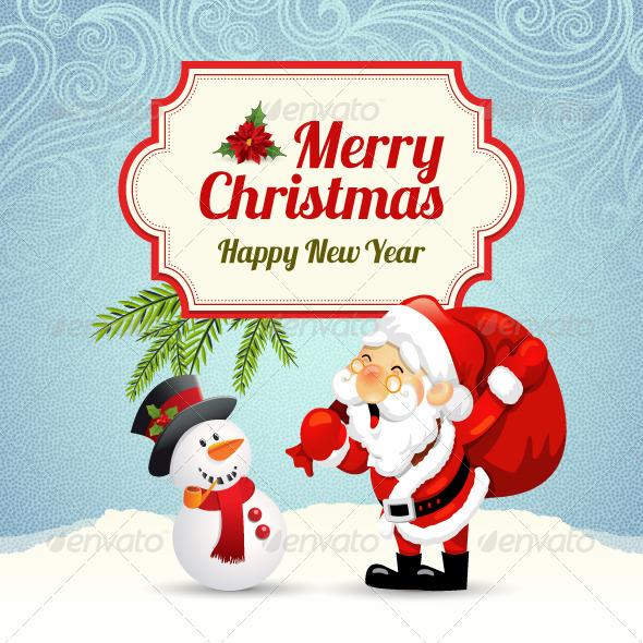 GraphicRiver Christmas Card 6235321