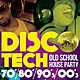 DiscoTech Flyer Poster Template - GraphicRiver Item for Sale