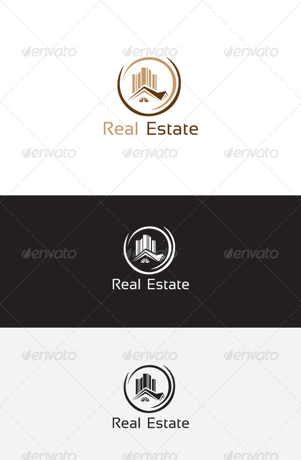 GraphicRiver Real Estate Logo Template 6235477