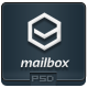 MailBox - PSD Email Template - GraphicRiver Item for Sale