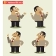 President Emotions in Poses - GraphicRiver Item for Sale