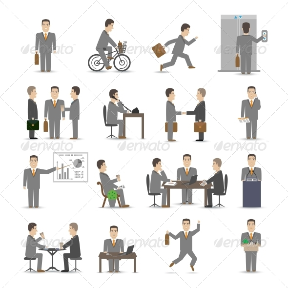 GraphicRiver Office People Set 6236616