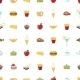 Food Pattern Seamless Background - GraphicRiver Item for Sale
