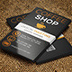Coffee Business Card 137 - GraphicRiver Item for Sale