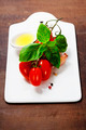 fresh tomatoes and basil - PhotoDune Item for Sale