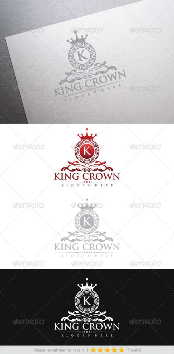 GraphicRiver King Crown 6237379