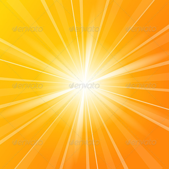 GraphicRiver Sunshine vector background 611458