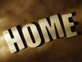 The word Home on paper background - PhotoDune Item for Sale