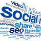 Social media conept in word tag cloud - PhotoDune Item for Sale