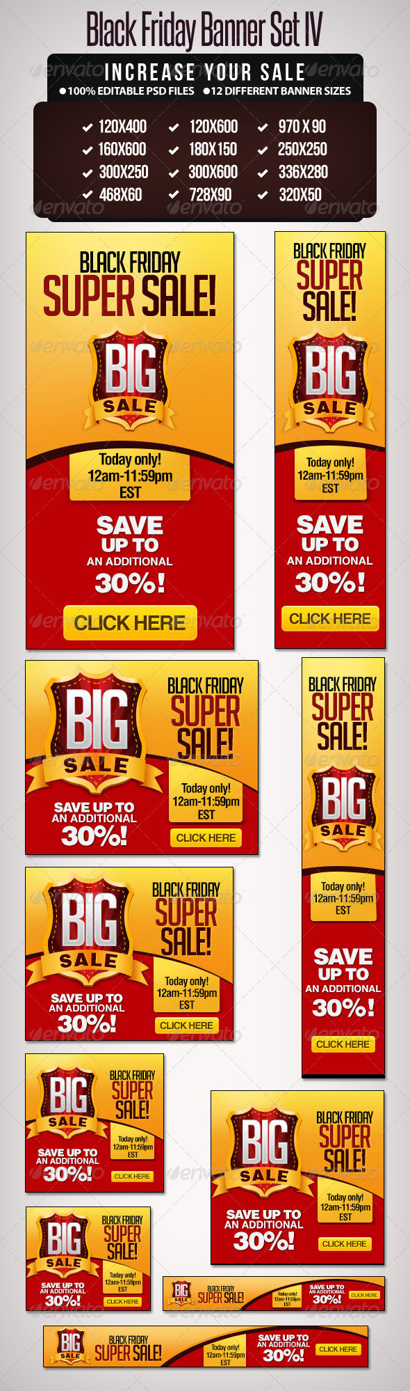GraphicRiver Big Sale Banner Set III 6238623