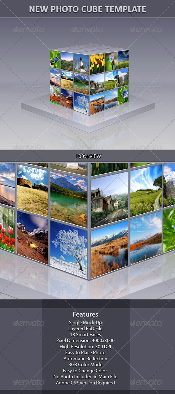 GraphicRiver New Photo Cube Template 6236744