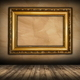 old picture frame on interior background - PhotoDune Item for Sale