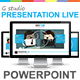 Gstudio Presentation Live Powerpoint Template - GraphicRiver Item for Sale